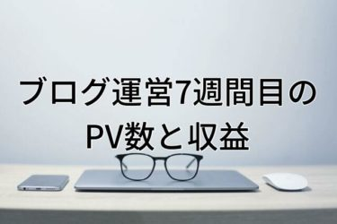 【運営報告】大学生ブログ運営7週間目のPV数と収益