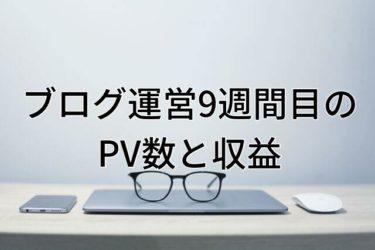【運営報告】大学生ブログ運営9週間目のPV数と収益